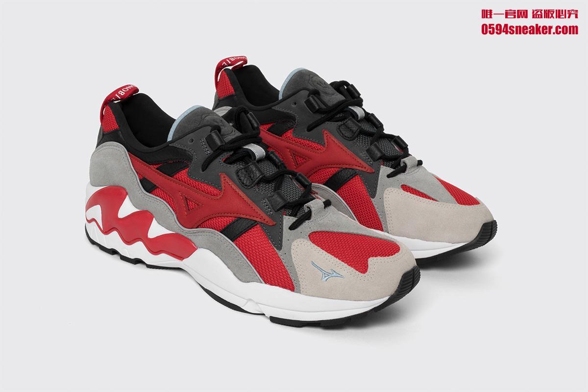 Highsnobiety x Mizuno Wave Rider 1 - 莆田鞋