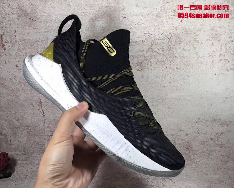 "UA Curry 5 ""Gold Pack"" 货号: 3020657-001、3020657-100 - 莆田鞋"