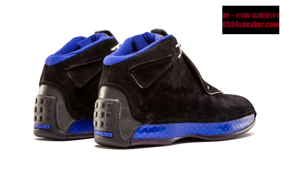 AJ18,Air Jordan 18,AA2494-007,  15 年后经典回归!黑蓝配色 Air Jordan 18 十月正式发售