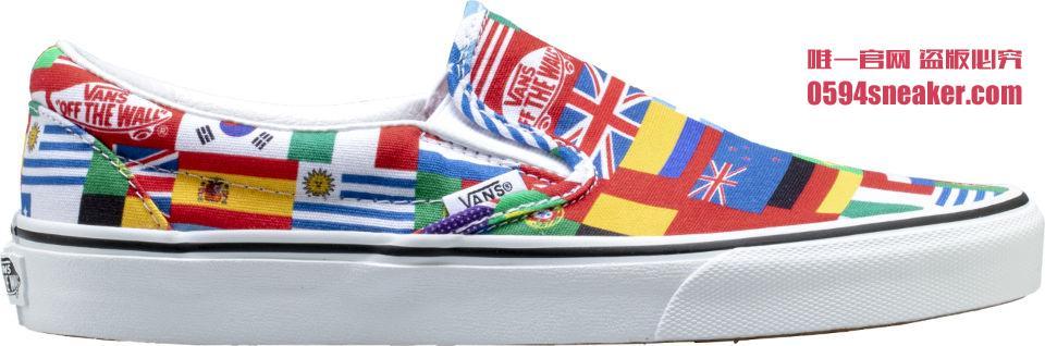 Vans,Slip-On,发售  世界杯主题!国旗配色 Slip-On 现已发售
