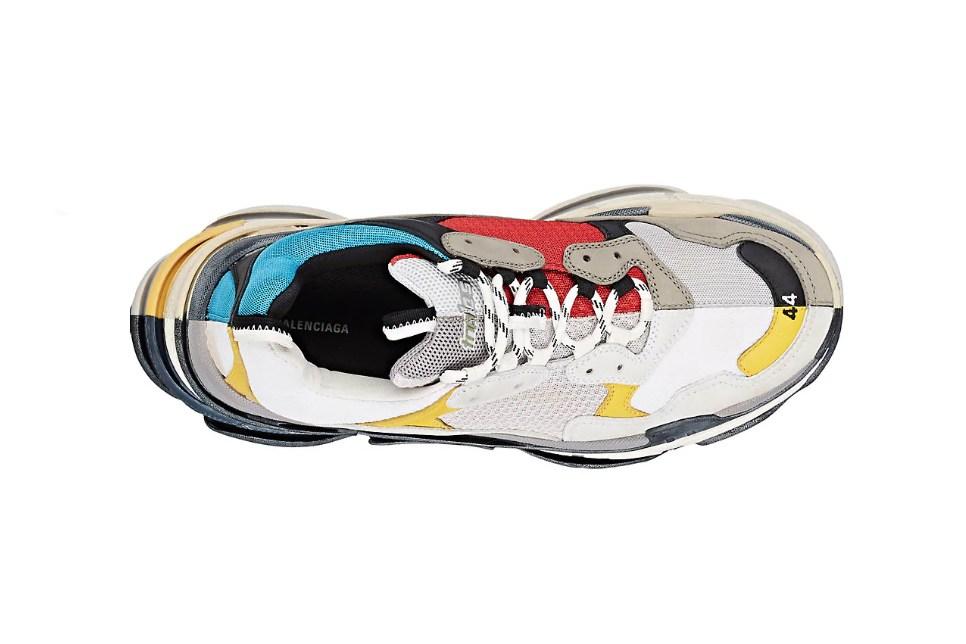 Balenciaga Triple S 老爹鞋全新系列阴阳配色 - 莆田鞋