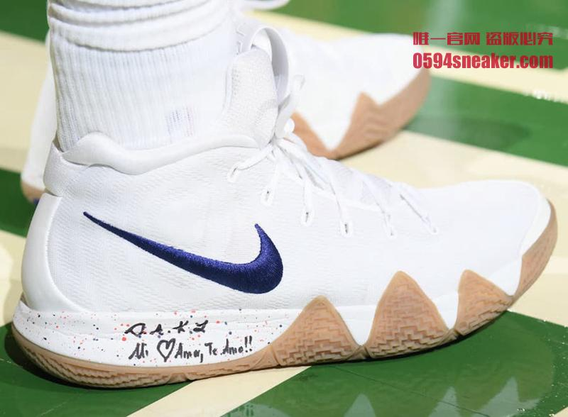 "Nike Kyrie 4 ""Uncle Drew"" 货号:943806-100 欧文4代德鲁大叔配色 - 莆田鞋之家 0594sneaker.com"