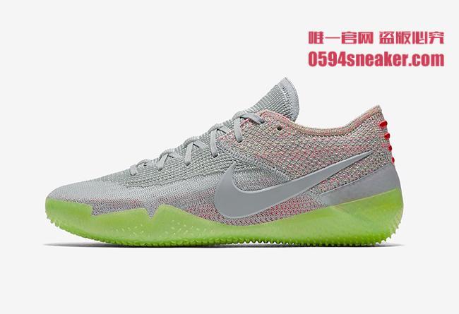Nike,Kobe AD NXT 360,AQ1087-00  酷似灰色 Air Yeezy 2!Kobe AD NXT 360 全新配色今夏登场