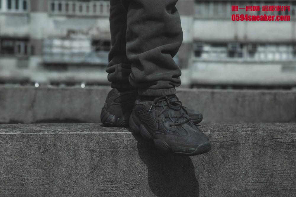 "adidas Yeezy 500 ""Utility Black"" 货号:F36640 - 莆田鞋"