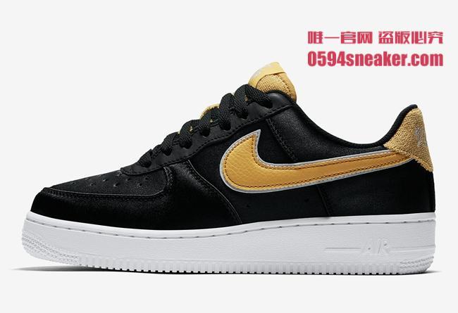 """Nike,Air Force,发售  绸缎鞋面!Air Force 1 Low """"Satin"""" 即将发售"""