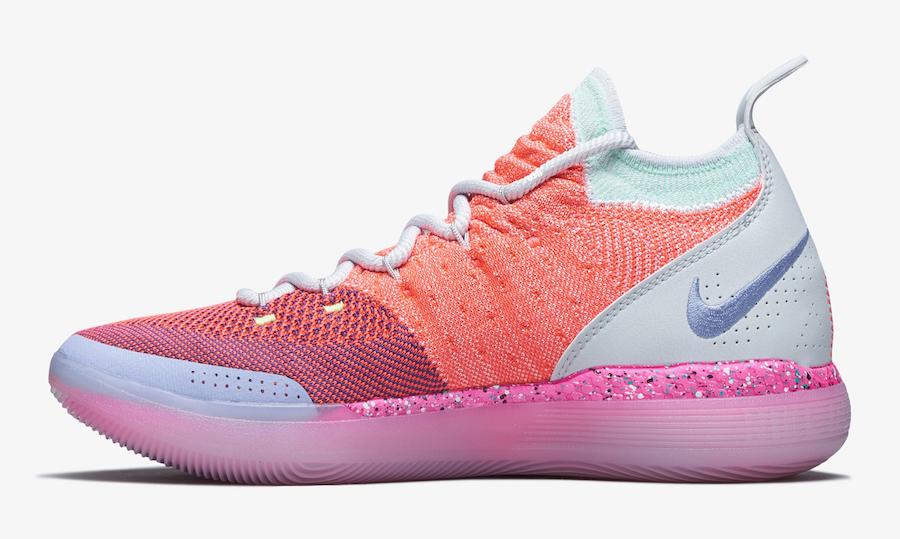 Nike KD11 EYBL 货号:AO2604-600 - 莆田鞋