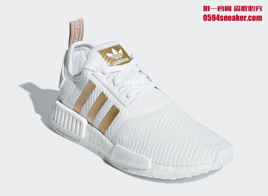 "adidas NMD R1 ""Metallic Stripes"" 货号:B37650 / B37651 - 莆田鞋"