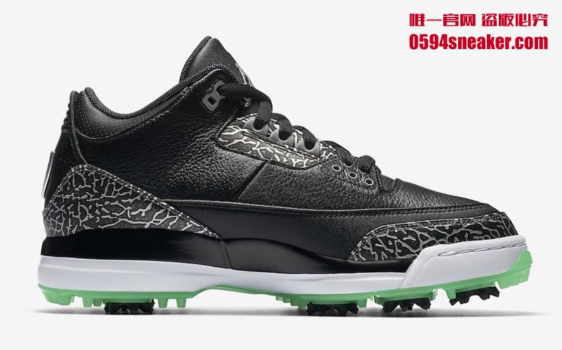 "Air Jordan 3 Golf ""Green Glow"" 货号:AJ3783-001 - 莆田鞋之家 0594sneaker.com"