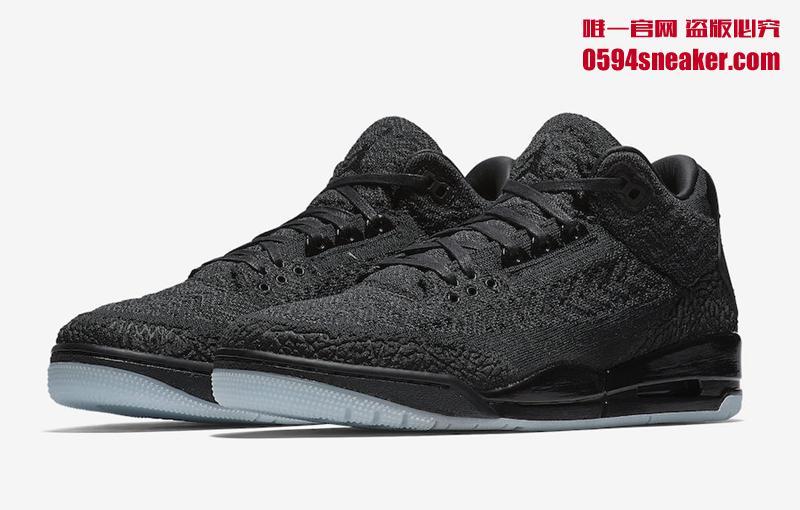 Air Jordan 3 Flyknit 编织鞋面乔丹篮球鞋,货号:AQ1005-001 - 莆田鞋