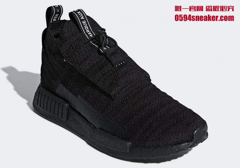 adidas NMD TS1 GORE TEX 防水编织鞋面,货号:AQ0927 - 莆田鞋