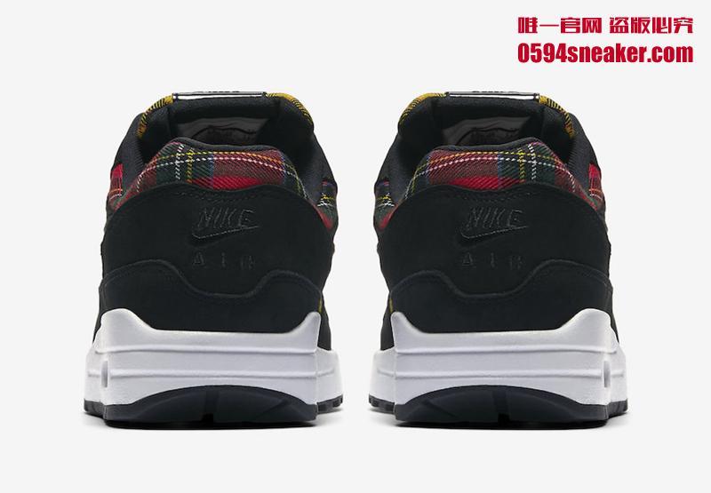 """Nike Air Max 1 SE """"Tartan"""" 货号:AV8219-001 - 莆田鞋"""