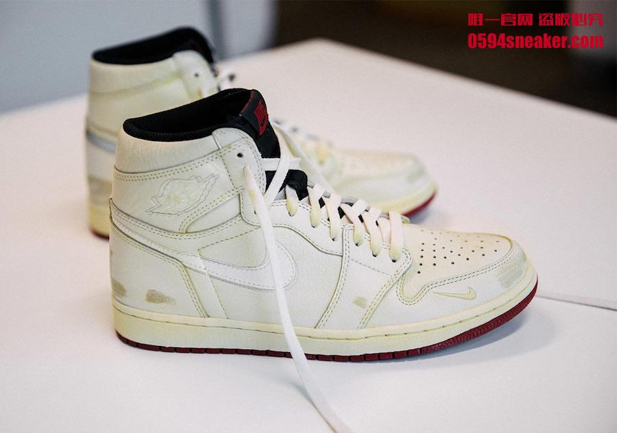 Nigel Sylvester x Air Jordan 1 High OG 货号:BV1803-106