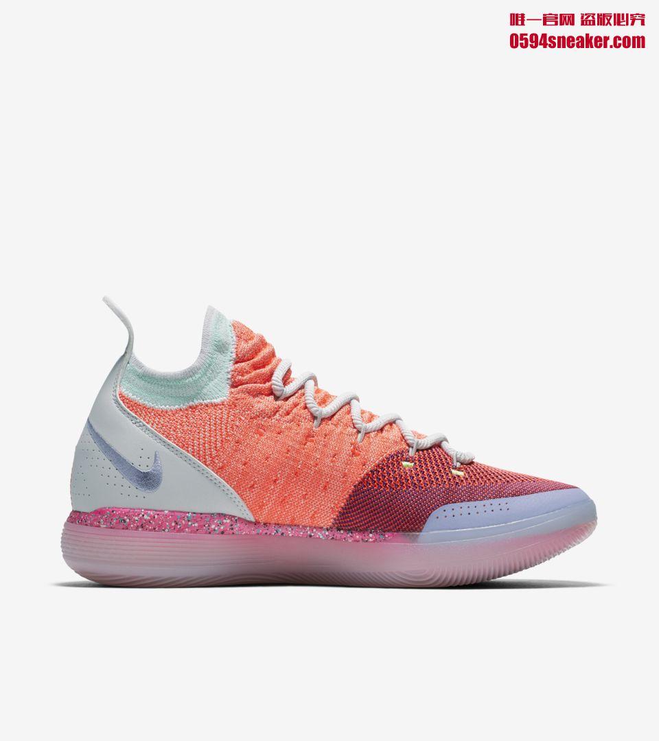 "Nike KD 11 ""EYBL"" 货号:AO2604-600"