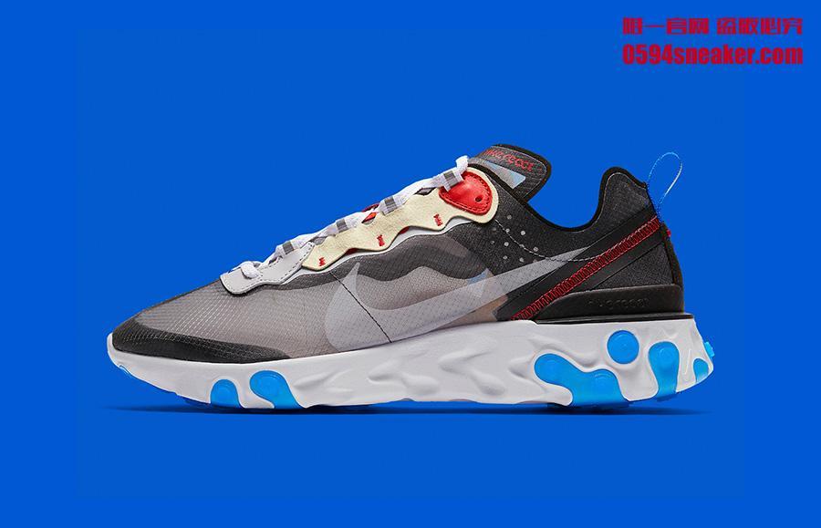 "Nike React Element 87 ""Dark Grey"" 货号:AQ1090-003 | 球鞋之家0594sneaker.com"
