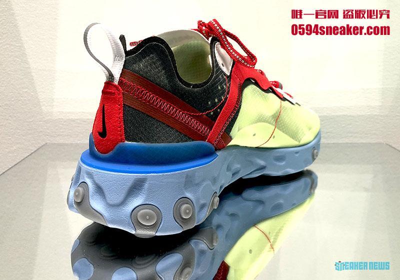 UNDERCOVER x Nike React Element 87 全新联名配色 | 球鞋之家0594sneaker.com
