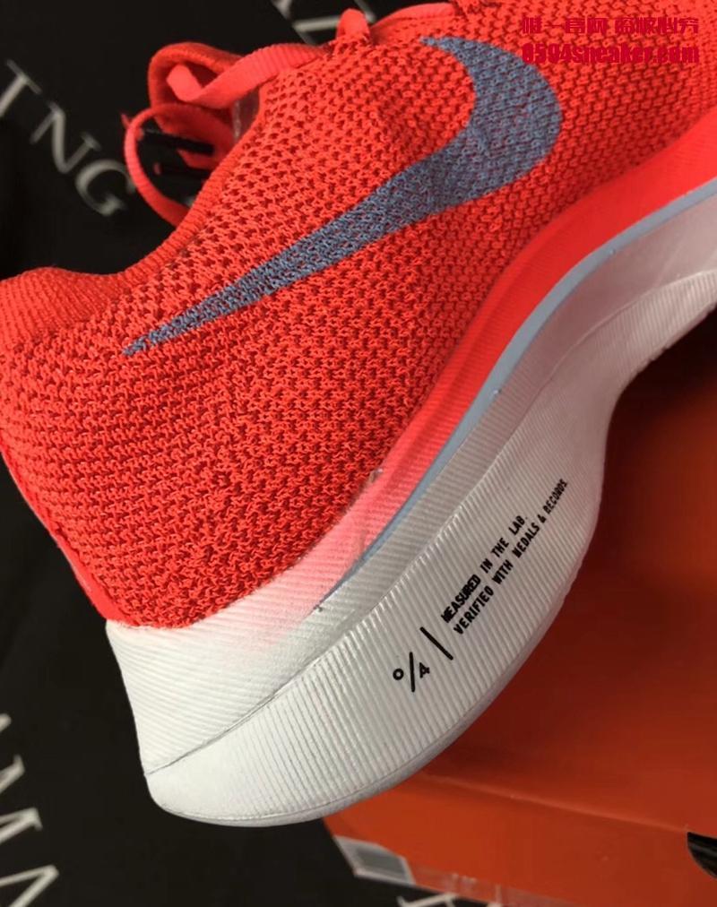 Nike Zoom VaporFly 4% Flyknit 货号: AJ3857-600 - 莆田鞋