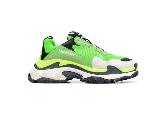 "Balenciaga Triple S ""Lime Green"" 柠檬绿 - 莆田鞋"