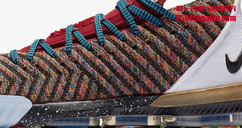 "Nike LeBron 16 ""1 Thru 5"" 货号:BQ6580-900"