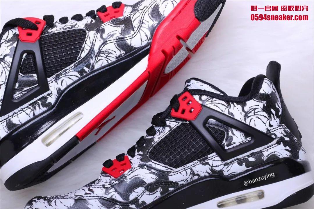 "Air Jordan 4 ""Tattoo"" 货号:BV7451-003"