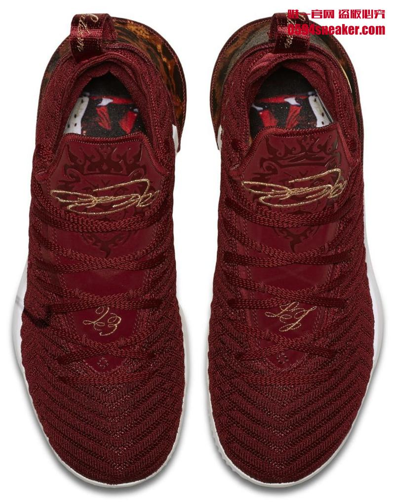 "Nike LeBron 16 ""King"" 货号:AO2588-601 - 莆田鞋"