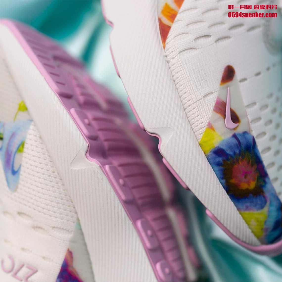 "Nike Air Max 270 ""Floral"" 货号:AT6819-100 - 莆田鞋"