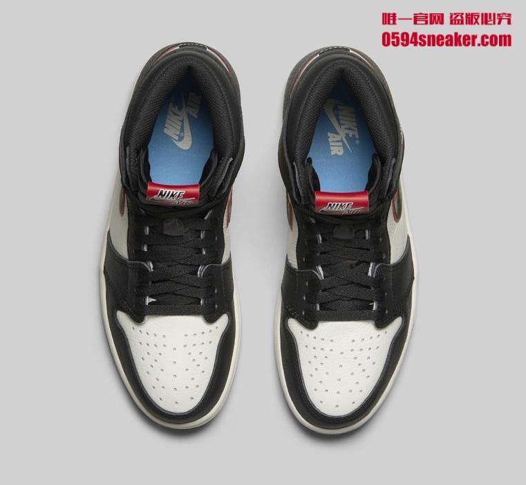 "Air Jordan 1 Retro High OG ""Sports Illustrated"" 货号:555088-015"