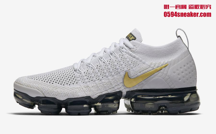 "Nike Air VaporMax 2.0 ""Metallic Gold"" 货号:942843-010 - 莆田鞋"