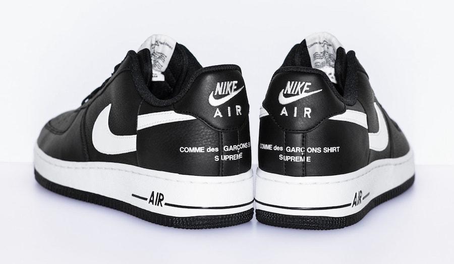 Supreme x Comme des Garçons x Nike Air Force 1 Low 货号:AR7623-001 - 莆田鞋