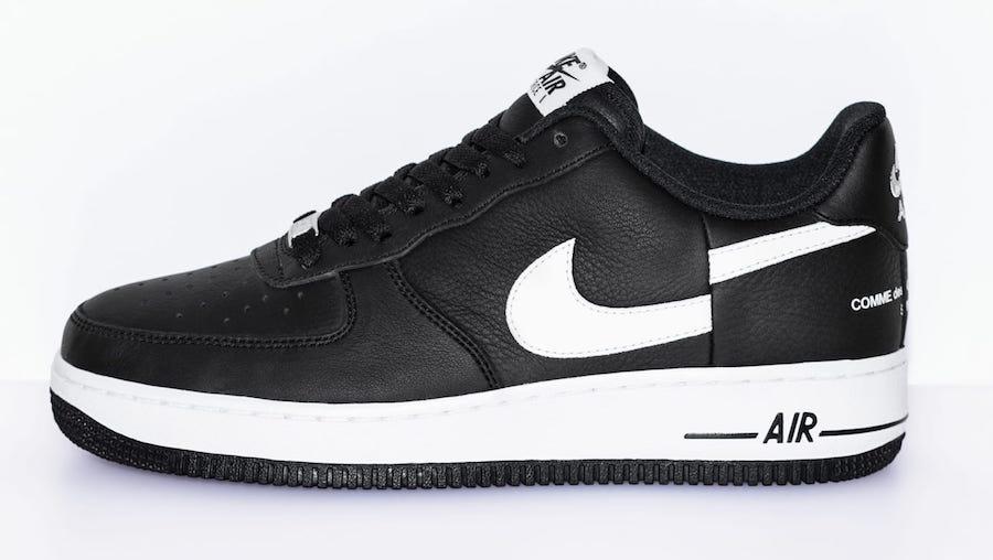 Supreme x Comme des Garçons x Nike Air Force 1 Low 货号:AR7623-001 - 莆田鞋之家 0594sneaker.com