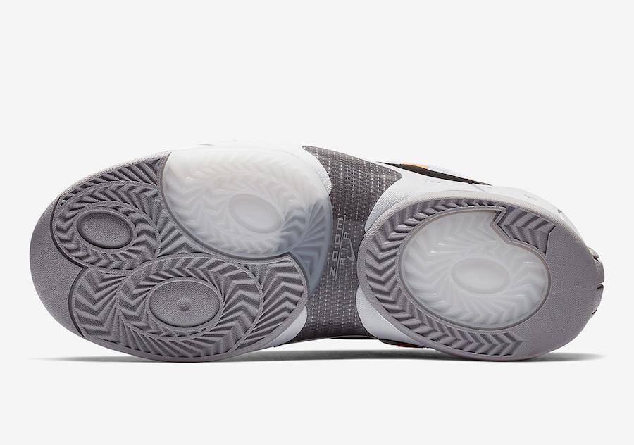 "Nike Air Swoopes 2 ""Orange Pulse"" 货号:917592-102 - 莆田鞋"