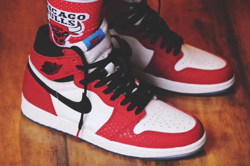 "Air Jordan 1 ""Chicago Crystal"" 货号:555088-602 - 莆田鞋"