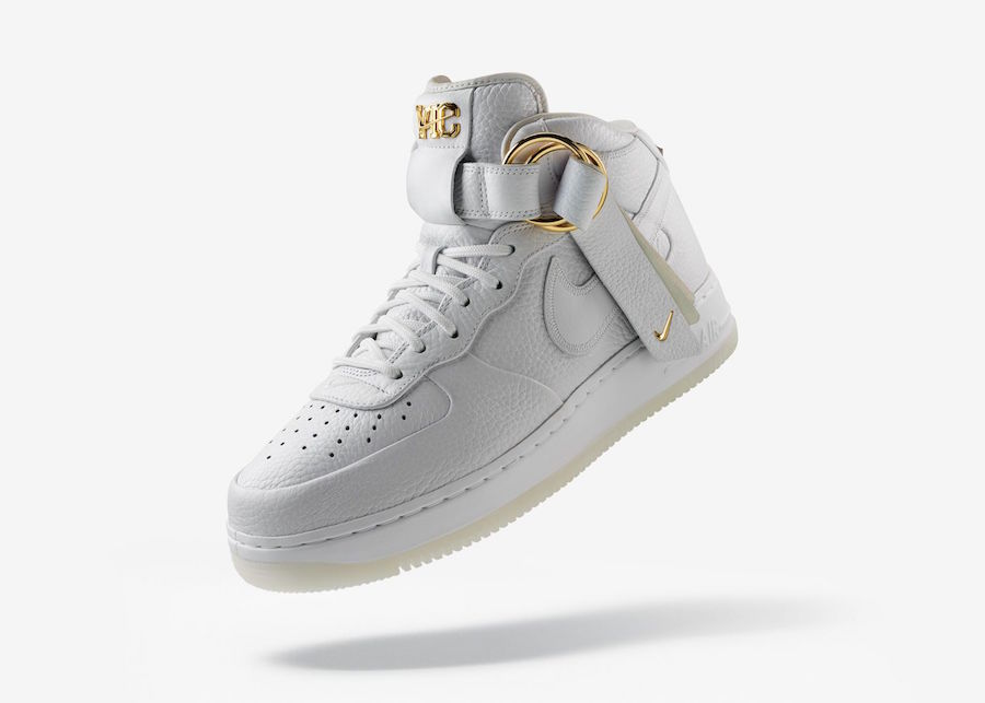 Victor Cruz x Nike Air Force 1 Mid 货号:AO9298-100、AO9298-200 - 莆田鞋
