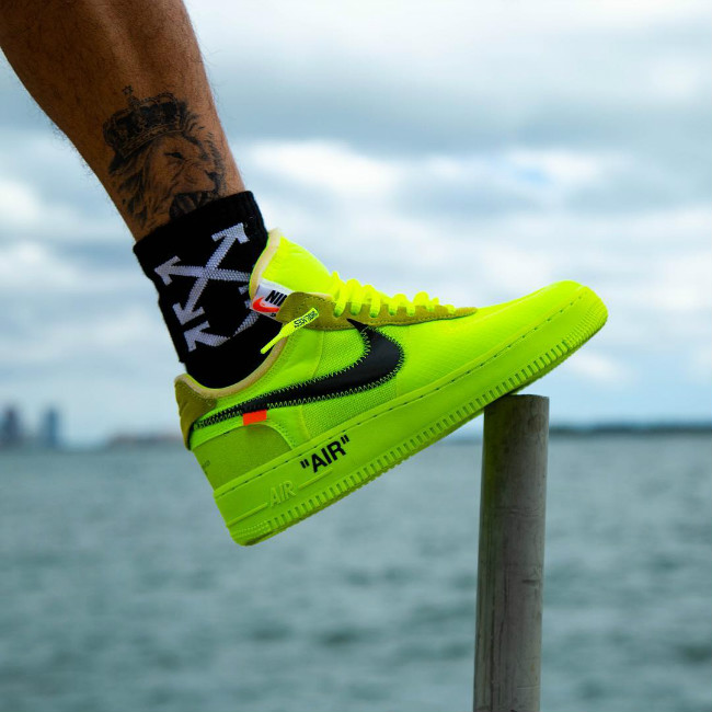OFF-WHITE x Nike Air Force 1 Low