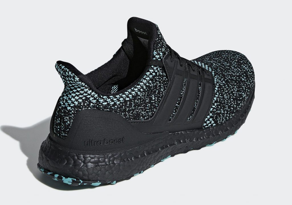 "adidas Ultra Boost ""Core Black/True Green"" 货号:EE3733 - 莆田鞋"