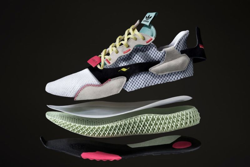 4D 跑鞋 Adidas ZX 4000 4D - 莆田鞋
