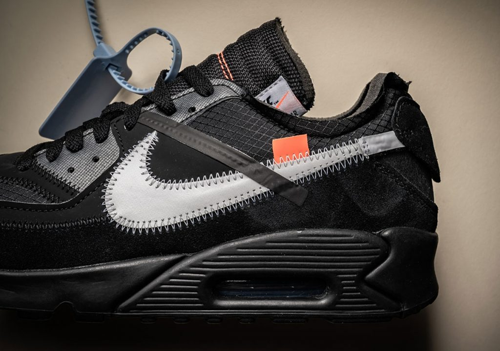 OFF-WHITE x Nike Air Max 90 货号:AA7293-001 - 莆田鞋