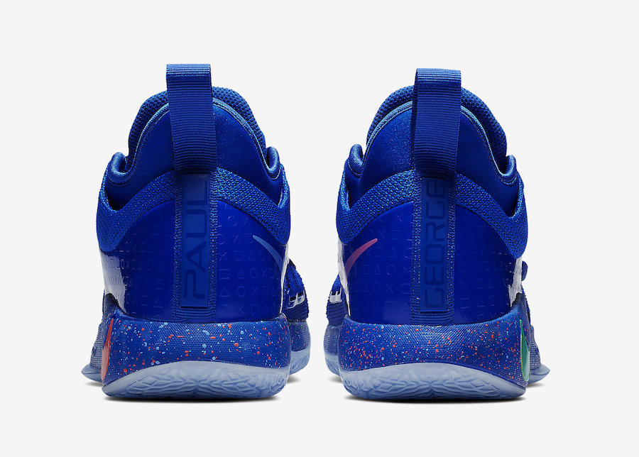 "PlayStation x Nike PG 2.5 ""Blue"" 货号:BQ8388-900 - 莆田鞋"