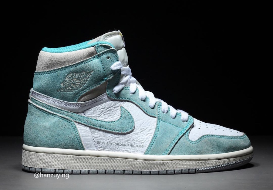 "Air Jordan 1 ""Turbo Green"" 货号:555088-311 - 莆田鞋"