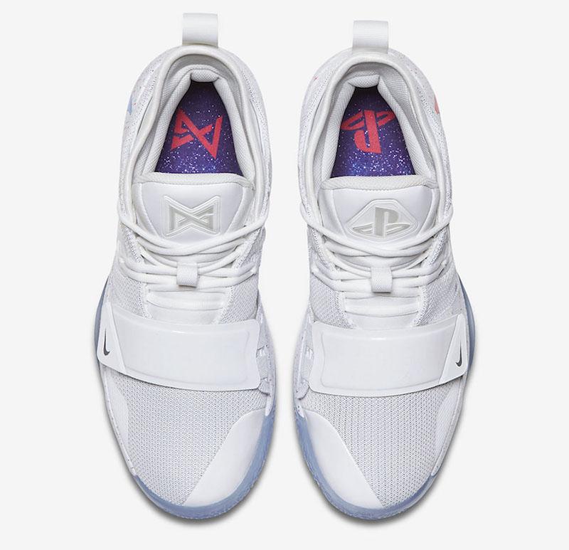PlayStation x Nike PG 2.5  货号:BQ8388-100 - 莆田鞋