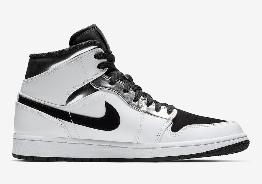 Air Jordan 1 Mid 货号:554724-121 平民版伦纳德配色 - 莆田鞋