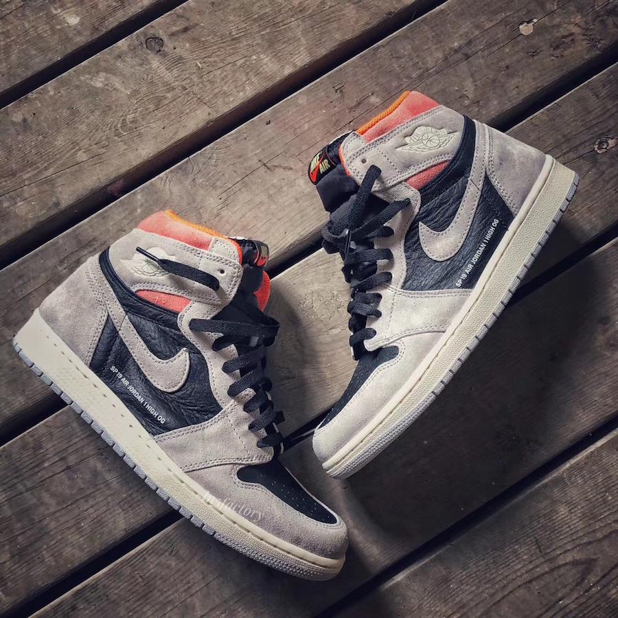 "Air Jordan 1 ""Neutral Grey"" 货号:555088-018 - 莆田鞋"