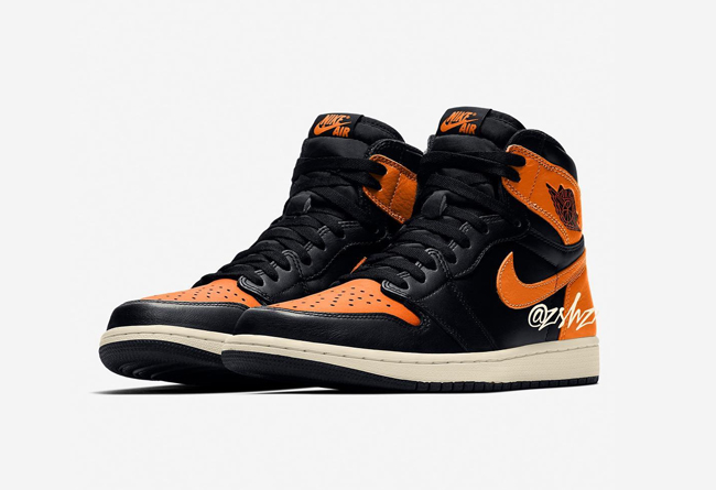 "Air Jordan 1 ""Shattered Backboard"" 货号:555088-028 - 莆田鞋"