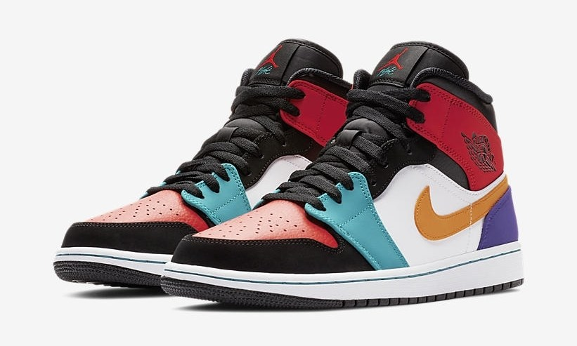 Air Jordan 1 Mid 货号:554724-125 - 莆田鞋