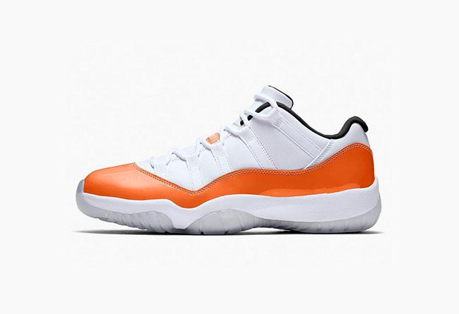 """Air Jordan 11 Low """"Orange Trance"""" WMNS 货号:AH7860-106 - 莆田鞋"""