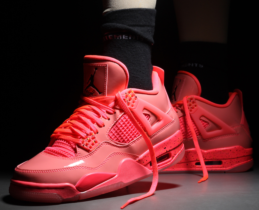 "Air Jordan 4 ""Hot Punch"" 货号:AQ9128-600 - 莆田鞋"
