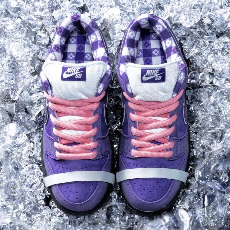 "Concepts x Nike SB Dunk Low ""Purple Lobster"" 货号:BV1310-555 - 莆田鞋"
