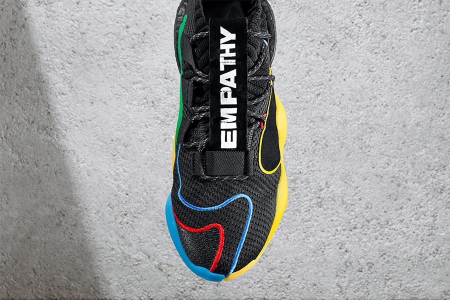 "菲董天足联名 Pharrell x adidas Crazy BYW X ""Gratitude Empathy"" 货号:G27805 - 莆田鞋"