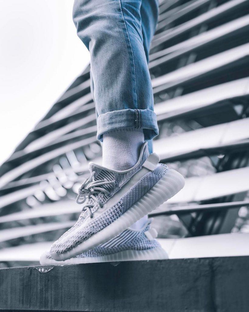 """Yeezy 350 V2 """"Static"""" 货号:EF2905 - 莆田鞋"""