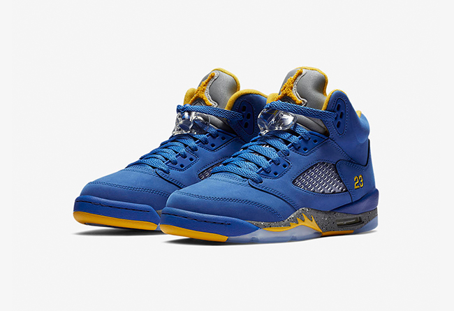 "Air Jordan 5 ""Laney""  货号:CD2720-700 - 莆田鞋"