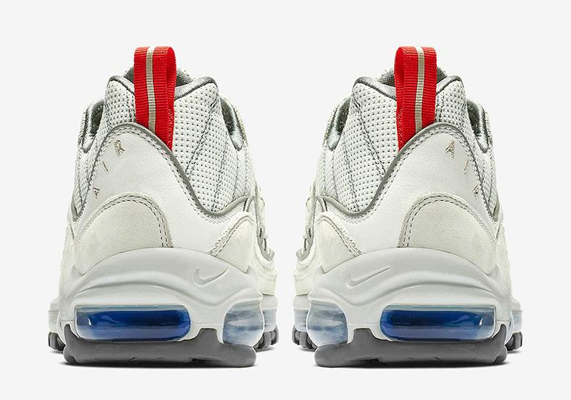 """Nike Air Max 98 """"Metallic Silver"""" 货号:CD1538-100 - 莆田鞋"""
